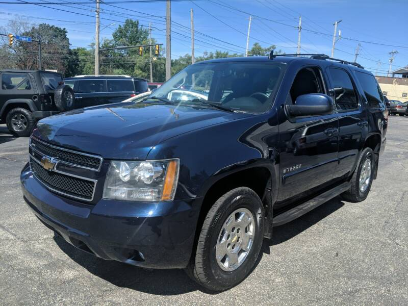 2009 Chevrolet Tahoe for sale at Richland Motors in Cleveland OH