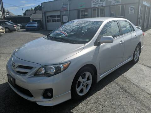 2013 Toyota Corolla for sale at Richland Motors in Cleveland OH