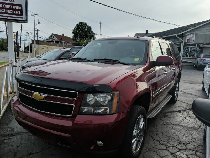 2011 Chevrolet Suburban for sale at Richland Motors in Cleveland OH