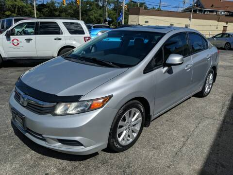 2012 Honda Civic for sale at Richland Motors in Cleveland OH