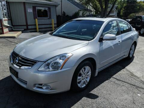 2011 Nissan Altima for sale at Richland Motors in Cleveland OH