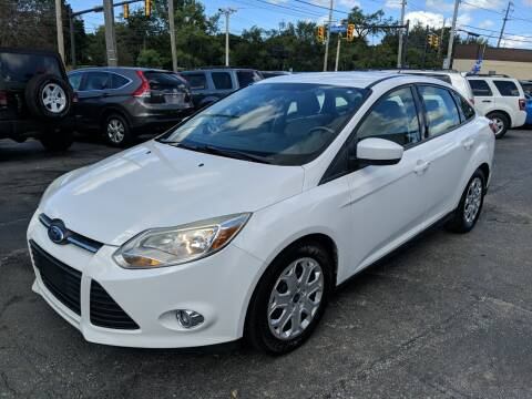 2012 Ford Focus for sale at Richland Motors in Cleveland OH
