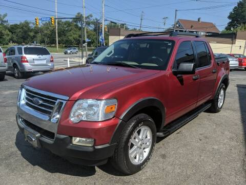 2008 Ford Explorer Sport Trac for sale at Richland Motors in Cleveland OH