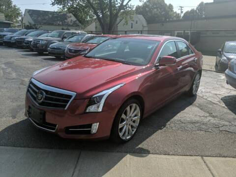 2013 Cadillac ATS for sale at Richland Motors in Cleveland OH