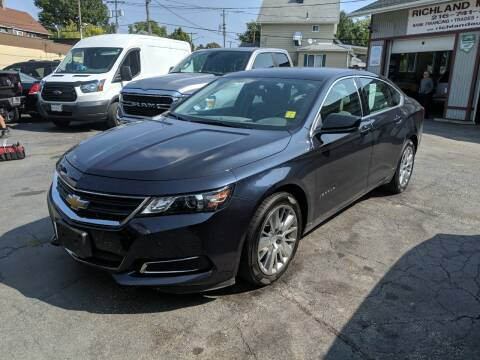 2014 Chevrolet Impala for sale at Richland Motors in Cleveland OH