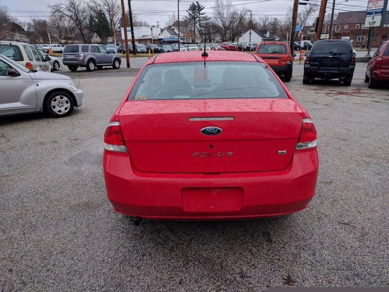 2008 Ford Focus SE 4dr Sedan - Cleveland OH