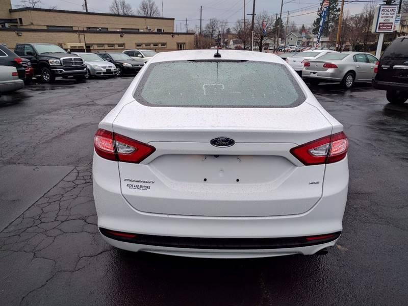 2015 Ford Fusion SE 4dr Sedan - Cleveland OH