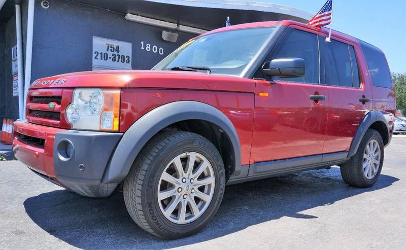 2008 LAND ROVER LR3 SE 4X4 4DR SUV rimini red 373 axle ratiofront bucket seatsleather seat tri