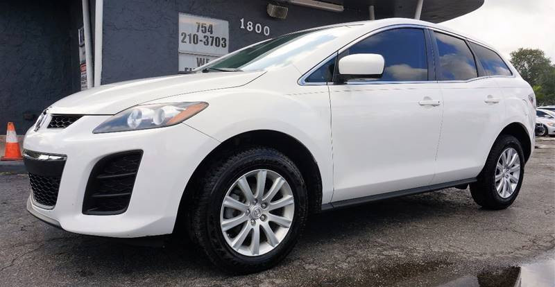 2011 MAZDA CX-7 I SV 4DR SUV crystal white pearl mica 3863 axle ratioreclining front bucket sea