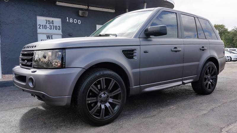 2007 LAND ROVER RANGE ROVER SPORT HSE 4DR SUV 4WD unspecified 373 axle ratio19 alloy wheelsf