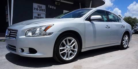 2014 Nissan Maxima for sale in Miramar, FL
