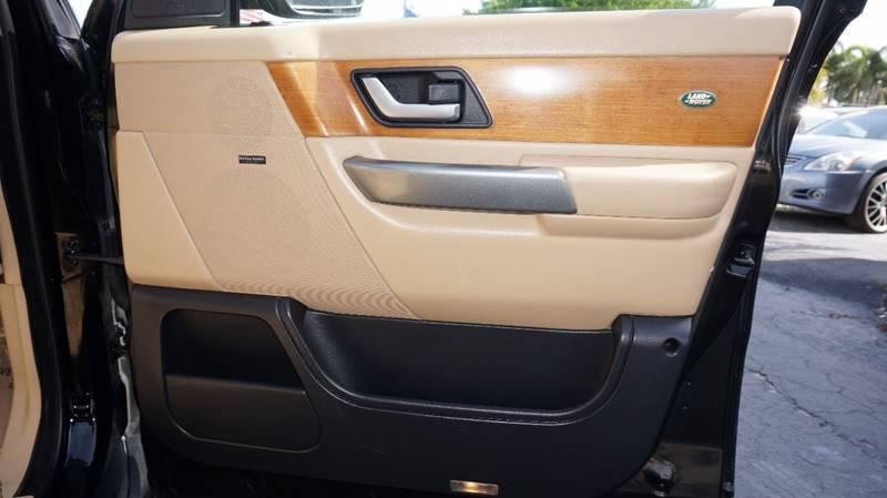2006 Land Rover Range Rover Sport HSE 4dr SUV 4WD - Miramar FL