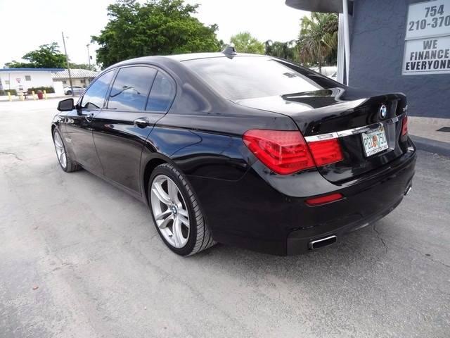 2011 BMW 7 Series 750Li 4dr Sedan - Miramar FL