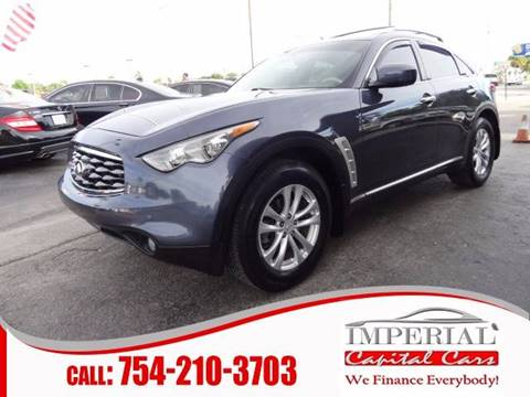 2010 Infiniti FX35 for sale in Miramar, FL