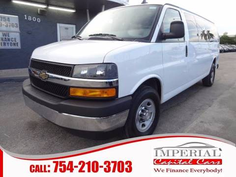 2017 Chevrolet Express Passenger for sale in Miramar, FL