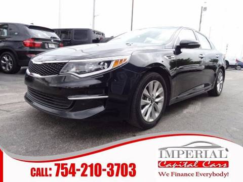 2016 Kia Optima for sale in Miramar, FL
