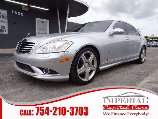 2007 Mercedes-Benz S-Class for sale at IMPERIAL CAPITAL CARS INC in Miramar FL