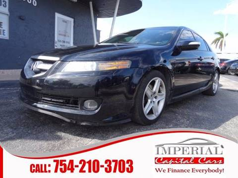 2007 Acura TL for sale at IMPERIAL CAPITAL CARS INC in Miramar FL