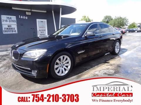 2011 BMW 7 Series for sale in Miramar, FL