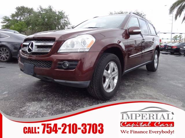 2007 Mercedes-Benz GL-Class for sale at IMPERIAL CAPITAL CARS INC in Miramar FL