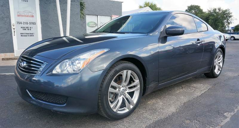 2008 INFINITI G37 JOURNEY 2DR COUPE gray call 1-754-210-3703 for sales this vehicle fully load