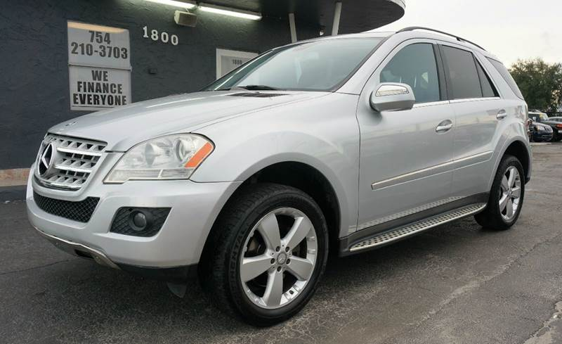 2010 MERCEDES-BENZ M-CLASS ML 350 4DR SUV silver call 1-754-210-3703 for sales this vehicle