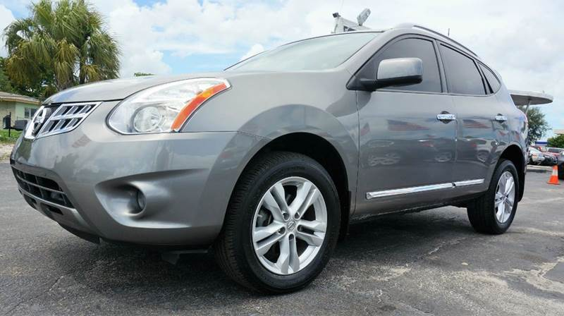 2013 NISSAN ROGUE SV 4DR CROSSOVER gray call 1-754-210-3703 for sales this vehicle fully loa