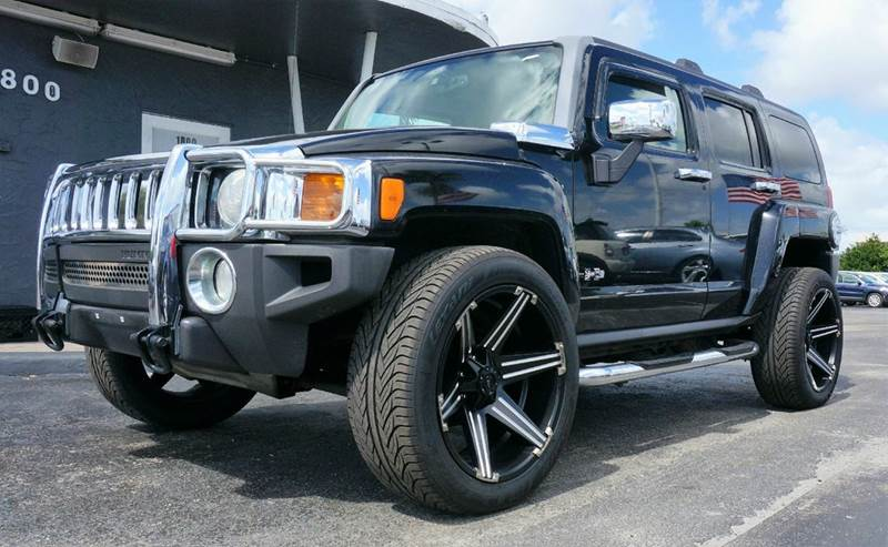 2007 HUMMER H3 LUXURY 4DR SUV 4WD black call 1-754-210-3703 for sales this vehicle fully load