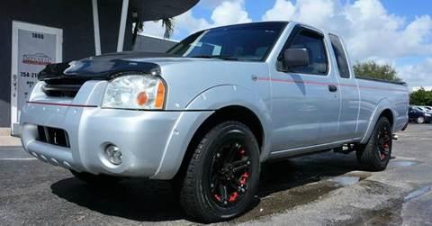 2001 Nissan Frontier for sale in Miramar, FL