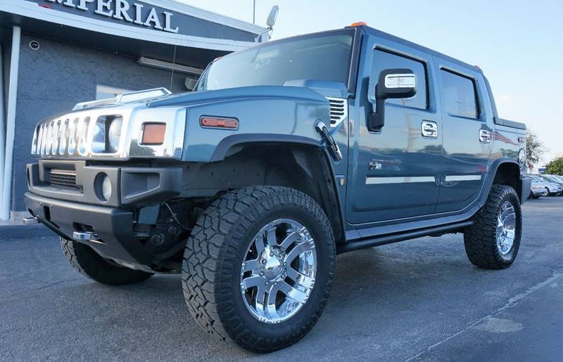 2006 HUMMER H2 SUT BASE 4DR CREW CAB 4WD SB gray call 1-754-210-3703 for sales this vehicle f