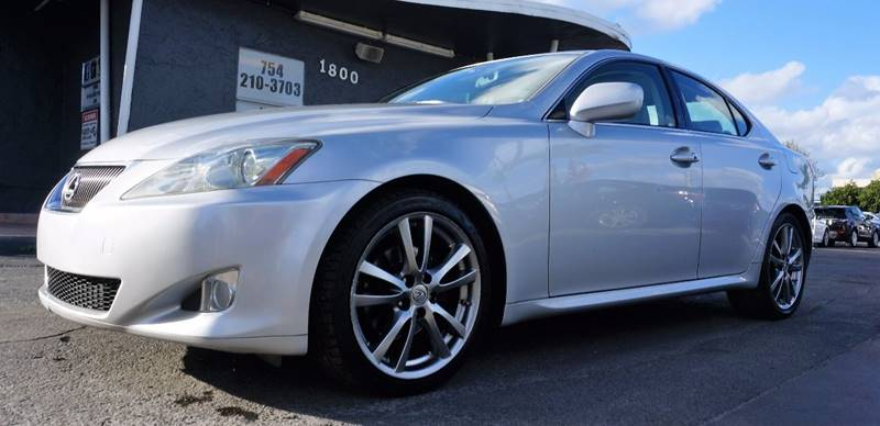 2008 LEXUS IS 250 BASE 4DR SEDAN 6A silver call 1-754-210-3703 for sales this vehicle fully lo