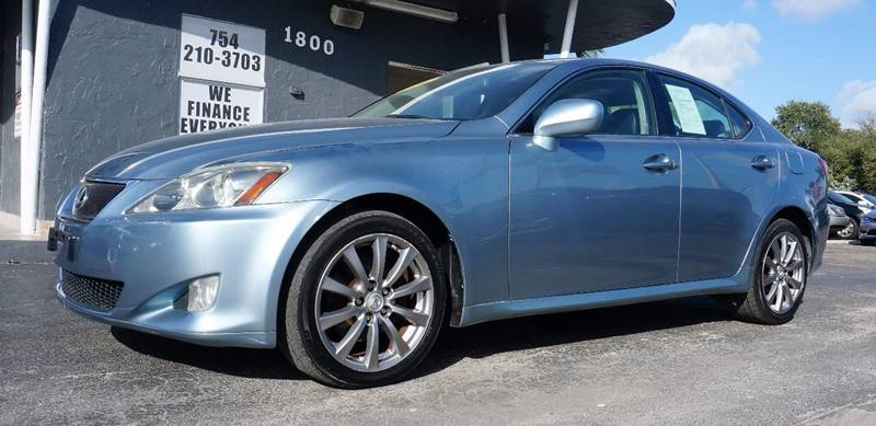 2006 LEXUS IS 250 BASE AWD 4DR SEDAN blue call 1-754-210-3703 for sales this vehicle fully l