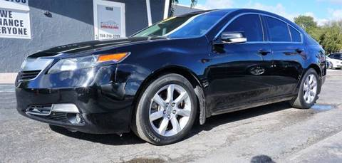 2013 Acura TL for sale at Imperial Capital Cars Inc in Miramar FL