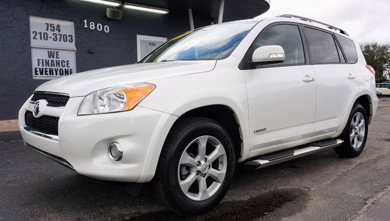 2011 TOYOTA RAV4 LIMITED 4DR SUV blizzard pearl 292 axle ratiofront bucket seatsfabric seat tr