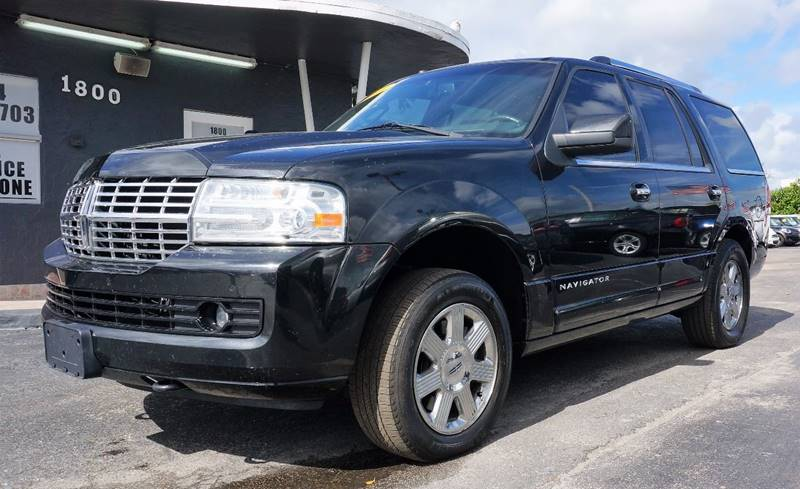 2011 LINCOLN NAVIGATOR BASE 4X2 4DR SUV black 373 rear axle ratiopremium leather low back bucke