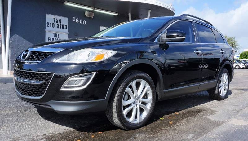 2011 MAZDA CX-9 GRAND TOURING 4DR SUV black call 1-754-210-3703 for sales this vehicle fully