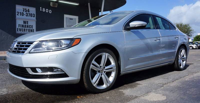 2013 VOLKSWAGEN CC SPORT 4DR SEDAN 6A silver call 1-754-210-3703 for sales this vehicle full