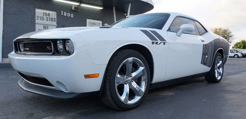 2011 DODGE CHALLENGER RT PLUS 2DR COUPE bright white clearcoat cloth low-back bucket seatsradio
