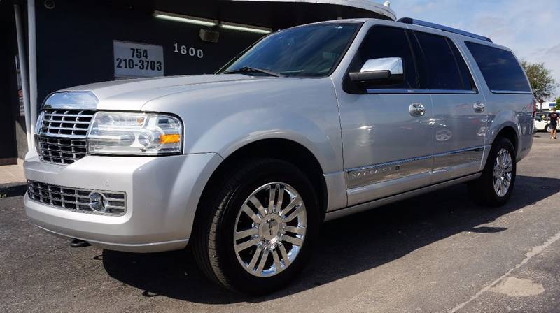 2010 LINCOLN NAVIGATOR L BASE 4X2 4DR SUV ingot silver metallic 373 rear axle ratio18 7-spoke