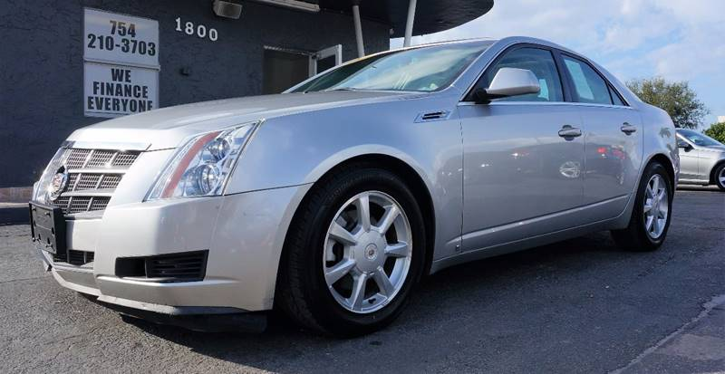 2008 CADILLAC CTS 36L V6 AWD 4DR SEDAN silver call 1-754-210-3703 for sales this vehicle fu