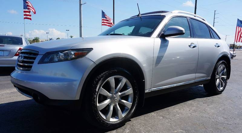 2006 INFINITI FX35 BASE AWD 4DR SUV silver call 1-754-210-3703 for sales this vehicle fully lo