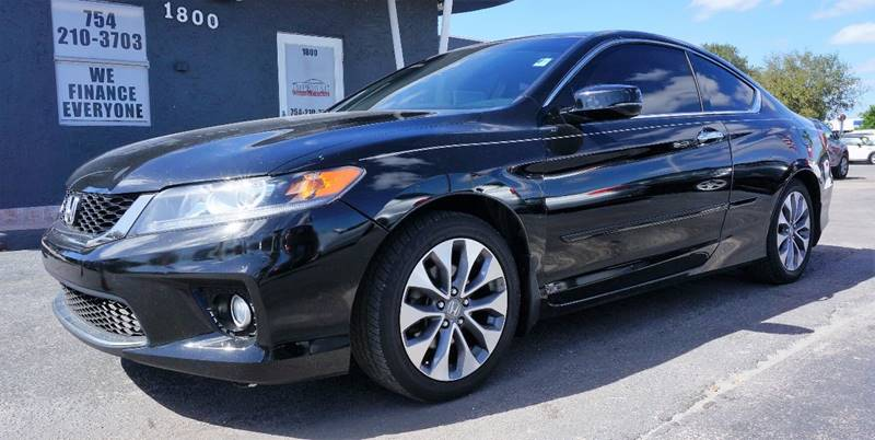 2013 HONDA ACCORD EX-L WNAVI 2DR COUPE WNAVI crystal black pearl 17 alloy wheelsheated front