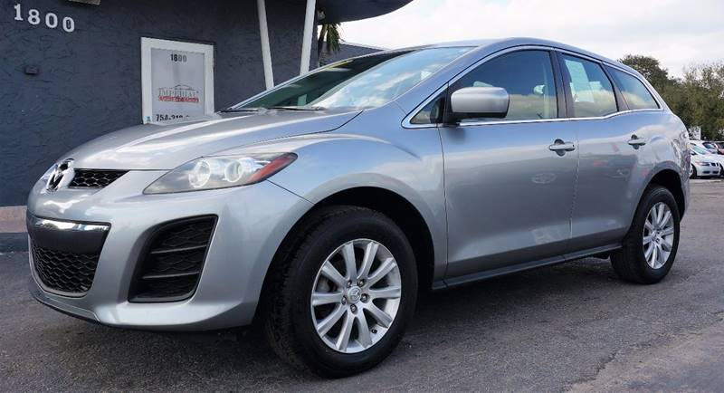 2010 MAZDA CX-7 I SV 4DR SUV liquid silver metallic 3863 axle ratioreclining front bucket seats