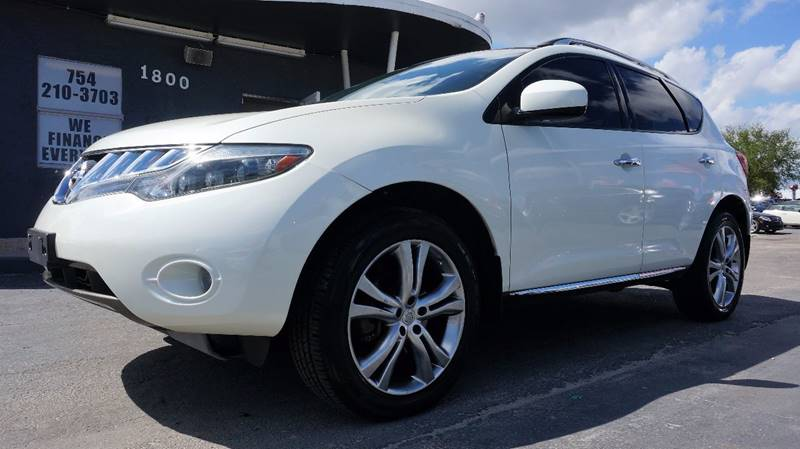 2009 NISSAN MURANO LE AWD 4DR SUV white call 1-754-210-3703 for sales this vehicle fully loa