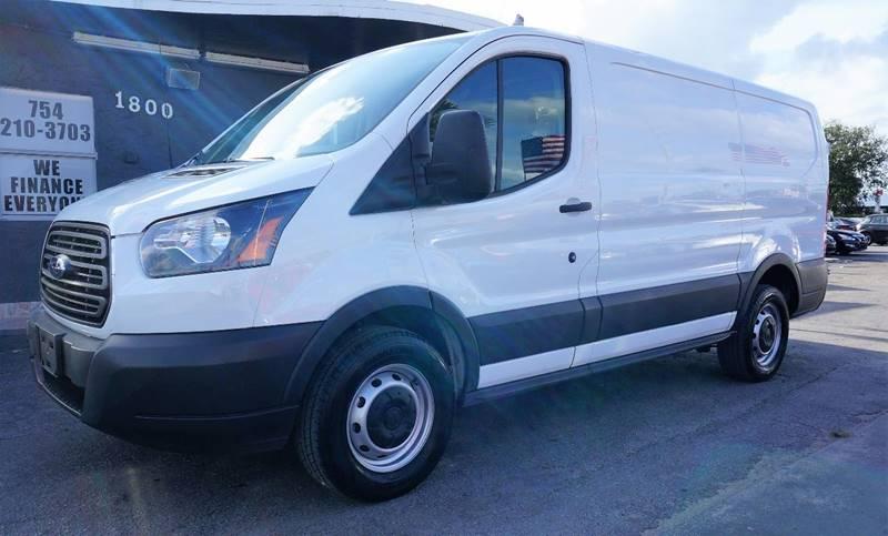 2016 FORD TRANSIT CARGO 250 3DR LWB LOW ROOF CARGO VAN W white 373 axle ratiowheels 16 steel