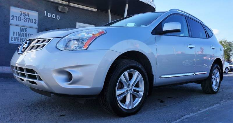 2013 NISSAN ROGUE SV 4DR CROSSOVER brilliant silver metallic 5798 axle ratiofront bucket seats