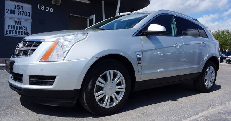 2010 CADILLAC SRX LUXURY COLLECTION AWD 4DR SUV silver 339 rear axle ratioheated front bucket s