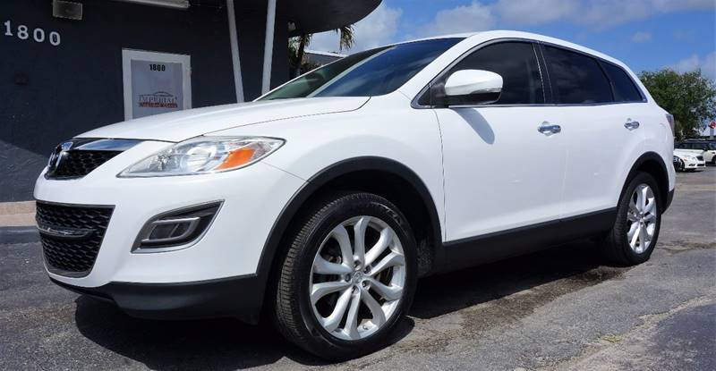 2011 MAZDA CX-9 GRAND TOURING 4DR SUV crystal white pearl mica 3464 axle ratio20 x 75j alumi
