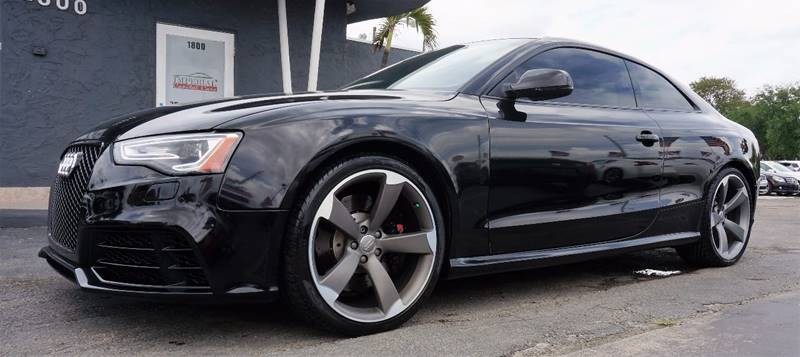 2013 AUDI RS 5 QUATTRO AWD 2DR COUPE black 3-step heated s sport-contoured front seatsfine nappa