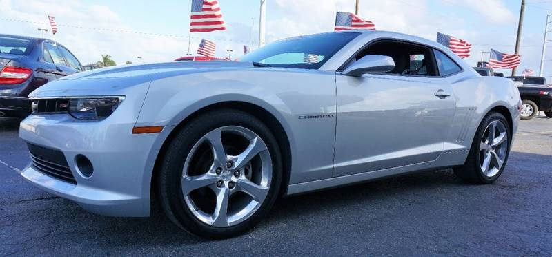 2014 CHEVROLET CAMARO LT 2DR COUPE W2LT silver ice metallic front sport bucket seatsfront leath